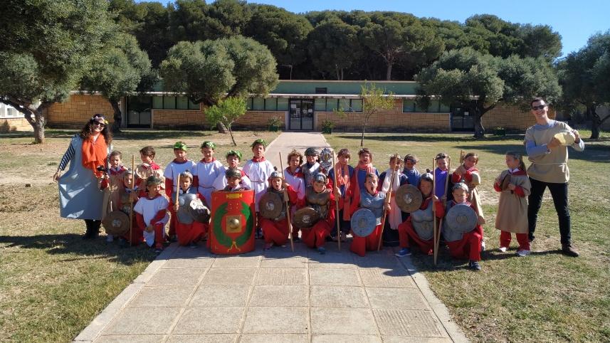 """""""Els Dracs"""" conocen la Tarraco romana"""