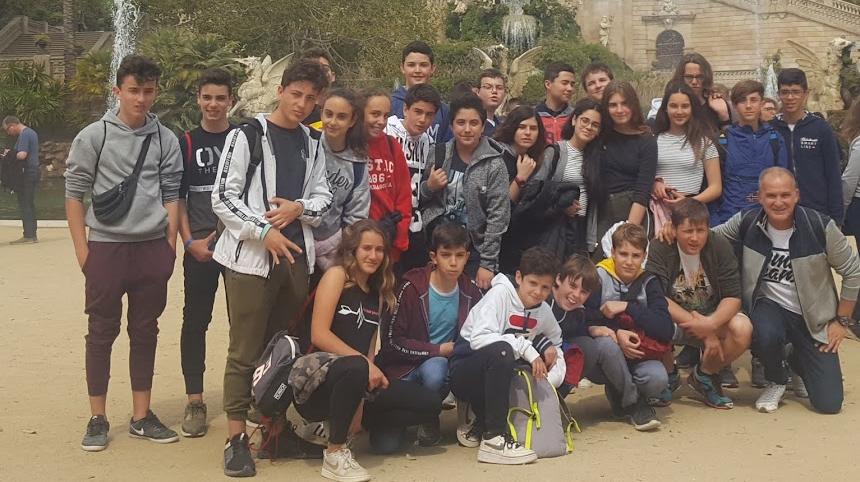 Sortida a Barcelona (1r i 2n d'ESO)