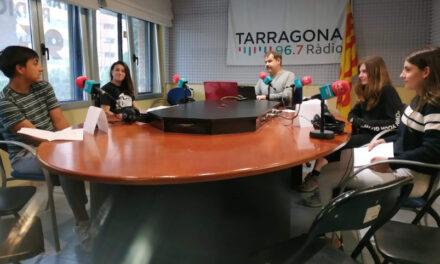 """Els delegats d'ESO participen en el programa radiofònic """"L'aventura de conversar"""""""