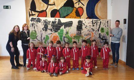 Los alumnos de P3 visitan el Museo de Arte Moderno de Tarragona