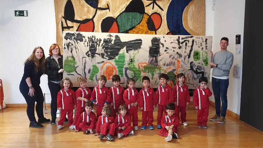 Els alumnes de P3 visiten el Museu d' Art Modern de Tarragona