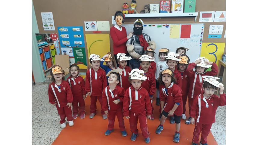 Carnestoltes (Educació Infantil)