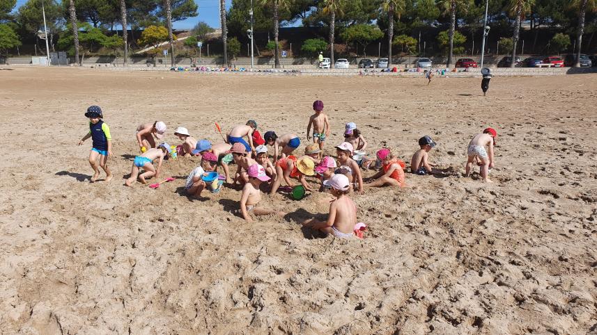 Un dia de platja (Ed. Infantil)